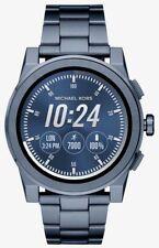 Sealed Michael Kors Men's Access Grayson Blue Touchscreen Smart Watch MKT5028