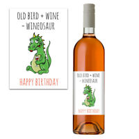 Funny Rude Wine Bottle Label For Her Women Birthday Gift Idea For Mum Friends