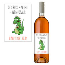 Funny Rude Wine Bottle Label For Her Women Birthday Gift Idea For Mum Friends