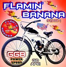 "66cc/80cc 2-Stroke Motorized Bike Kit With 26"" Power Cruiser Bike New"