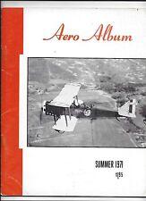 Aero Album  SUMMER 1971