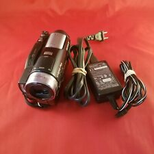 SONY HANDYCAM HDR-UX20 HD DVD CAMCORDER 1920x1080i  Touch Screen ZEISS LENS