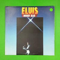 ELVIS PRESLEY Moody Blue AFL12428 Masterfonics LP Blue Vinyl VG++ Cvr VG+ Sleeve