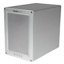 StarTech.com Thunderbolt 2 (Quad Bay) Hard Drive RAID Enclosure with Thunderbolt