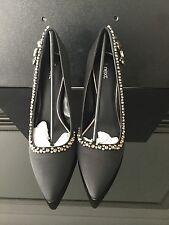 Ladies Black  Embellished Stiletto Court Shoe, NEXT, Size 8, New in Box