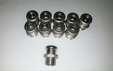 Joblot Stainless Steel Pressfitting Male Coupling 22 x 3/4""