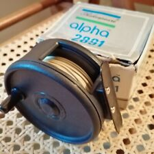 Shakespeare Alpha 2891 Fishing Reel with Line, both VG Condition, box has wear