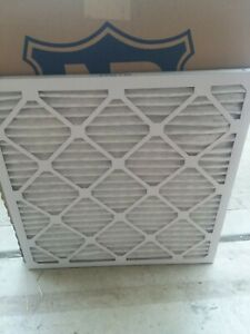 Nordic Pure 20x20x1 MERV 14 Pleated Plus Carbon AC Furnace Air Filters 6 Pack