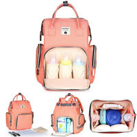 Baby Nappy Bag Backpack Changing Bag Mummy Bag Large Capacity Multifunctional