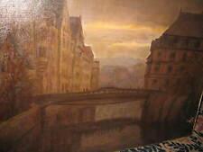 Ruegg Albert, * 1902 nocturnes ville scène