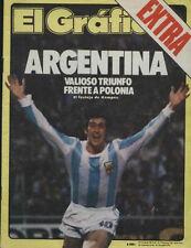 FIFA WORLD CUP 1978 - Argentina Vs Poland SPECIAL Magazine