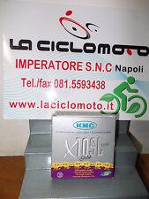 CATENA BICI KMC X10 SL 112 MAGLIE SUPERLIGHT ORO 10 VELOCITA' OFFERTA BIKE
