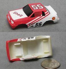 1990 Galoob Micro Machines 1/87th Shell ThunderBird Slot Car BODY ONLY
