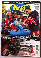 Kart Mag n°126; Bilan F1/ Coupe de France Loisir/ Essai intrepid/ Kozlinski