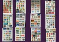 Stamp Collection United Kingdom Ireland Greece Asia & United States, Free Post