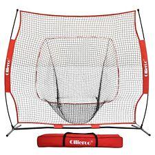 7x7Ft Bow Frame Baseball Softball Teeball Practice Batting Training Net W Bag Ne