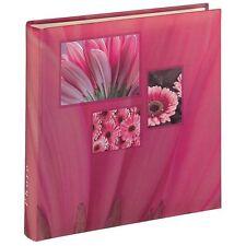 Album Porta Foto Jumbo Singo, Fino a 400 Foto da 10x15, Colore Rosa, HAMA
