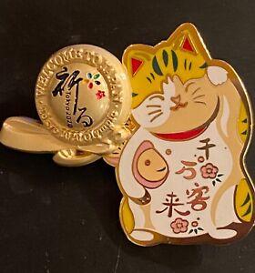 TOKYO 2020 OLYMPIC PINS -  JAPAN CAT PIN .