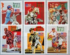 MALI 1995 I-VI UNISSUED Olympics 1996 Atlanta Tennis Boxing Basketball MNH R