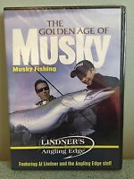 Lindner's Angling Edge - The Golden Age of Musky Fishing -  DVD NEW Sealed