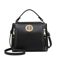 Zipper Girls Shoulder Crossbody Bag Satchel Ladies Designer PU leather Handbag