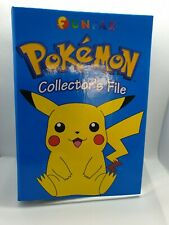 NEW POKEMON FUNFAX COLLECTORS FILE WITH ORIGINAL INSERTS