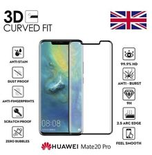 For Huawei Mate 20 Pro Lite 20X 3D Full Cover Screen Protector Tempered Glass