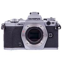 Olympus OM-D E-M5 Mark II Mirrorless Micro Four Thirds Digital Camera Silver