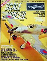 Vtg Scale Modeler Magazine June 1974 Hawker Hurricane Super Model  m100
