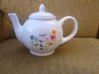 Rae Dunn Bloom Floral Spring Teapot Artisan Collection by Magenta Tea Pot