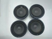 Set of Four MB Quart Three Woofers marked 95 6717 Speakers FOR REPAIR