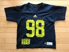 Adidas NCAA Football Michigan Devin Gardner #98 Youth Sz S Jersey Boys Sz 7 9T8