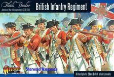 28mm Warlord Games British Infantry Regiment, Black Powder AWI BNIB