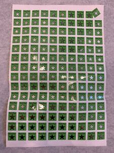 Approximately 140 Green Well Done Stickers