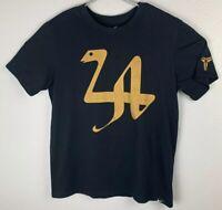 Nike Black Mamba Kobe Bryant LA 24 Snake Shirt Dri Fit Mens L Large RARE