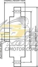 DAYCO Fanclutch FOR Ford Fairmont Sep 1996 - Sep 1998 5.0L V8 16V MPFI EL Z