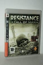 RESISTANCE FALL OF MAN USATO BUONO SONY PS3 EDIZIONE ITALIANA PAL AS3 50242
