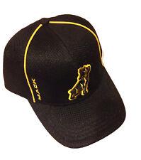 Mack Trucks Bulldog Black & Gold Mesh Snapback Cap/Hat