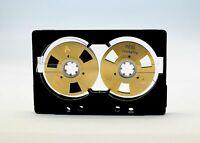 Reel to Reel cassette tape self-made design Chrome position Open Type  Gold
