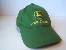 John Deere Nothing Runs Like A Deer Hat Green Strapback Baseball Cap