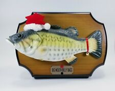 Big Mouth Billy Bass Singing Animated Fish Santa Hat Christmas Edition 99 Works