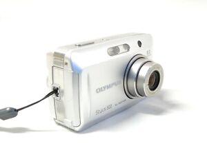 Olympus Stylus 500 Digital 5.0MP Digital Camera Silver All Weather Camara