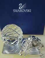 SWAROVSKI CRYSTAL MEMORIES  BASKET BALL TROPHY FIGURINE 680504  MINT IN BOX