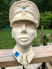 Rare Original Handmade Clay Sculpture LGBTQ Political WWII German