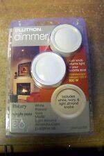 NEW Lutron Dimer D-600PH-3K 600W 120V (white,Ivory,Light Almond)