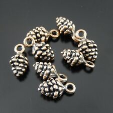 50951 Red Copper Alloy Pinecone Mulberry Pendants Charms Crafts Findings 119pcs