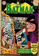 "Batman #173 ""Fake Identities for Sale"" 1965 (Grade 1.5) WH"