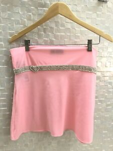 Yung Reaper Custom Pink Diamond Skirt. Brand New With Tags