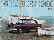 WOLSELEY 1300 MK2 BROCHURE, PUBLICATION No.2586/D.