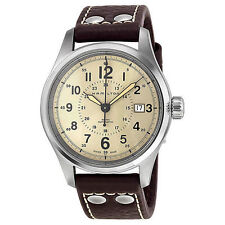 Stainless Steel Case Adult Hamilton Khaki Field Wristwatches
